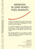 Col·legi de Pedagogs de Catalunya > El Col·legi > Xè Aniversari de la Llei de Creació del COPEC<br>
